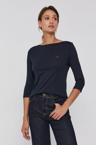Tommy Hilfiger - Bavlnené tričko s dlhým rukávom
