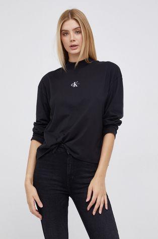 Calvin Klein Jeans - Памучна блуза с дълги ръкави