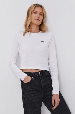 Fila - Bavlněné tričko s dlouhým rukávem