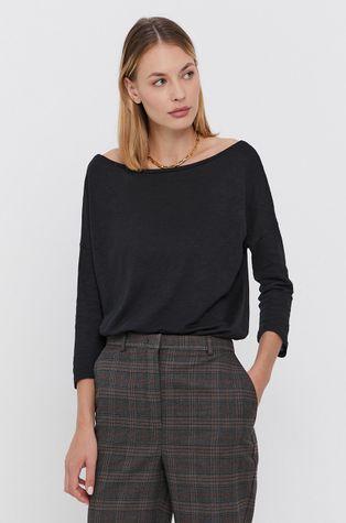 Sisley - Блуза с дълги ръкави