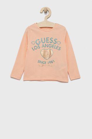 Guess - Longsleeve dziecięcy