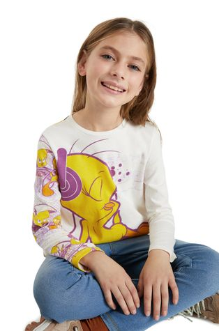 Desigual - Детска блуза с дълги ръкави x Looney Tunes
