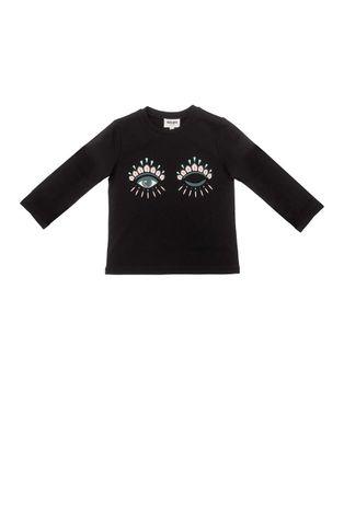 KENZO KIDS - Detská bavlnená košeľa s dlhým rukávom