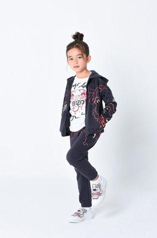 KENZO KIDS - Dětská bavlněná košile s dlouhým rukávem