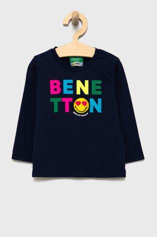 United Colors of Benetton - Longsleeve bawełniany dziecięcy