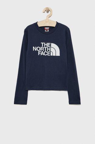 The North Face - Longsleeve bawełniany dziecięcy