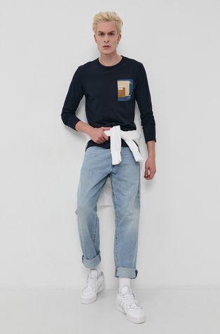 Tom Tailor - Bavlnené tričko s dlhým rukávom