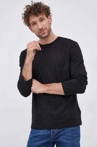 Tiger Of Sweden - Βαμβακερό πουκάμισο με μακριά μανίκια
