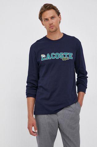 Lacoste - Βαμβακερό πουκάμισο με μακριά μανίκια
