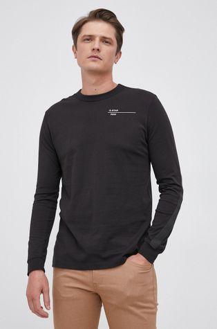G-Star Raw - Bavlněné tričko s dlouhým rukávem