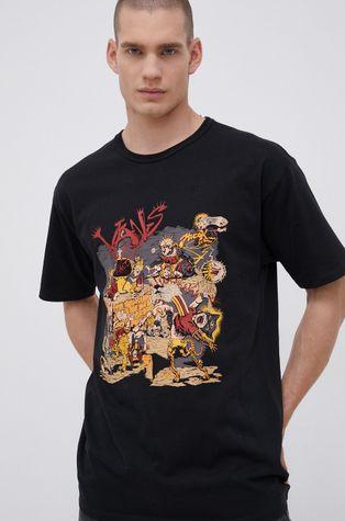 Vans - Bavlněné tričko Off The Wall Gallery, Dwinky Ka
