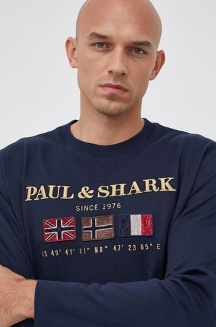 PAUL&SHARK - Longsleeve bawełniany