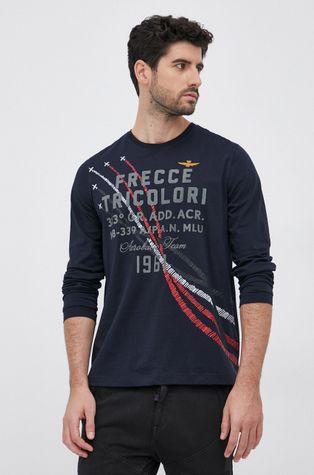 Aeronautica Militare - Памучна блуза с дълги ръкави