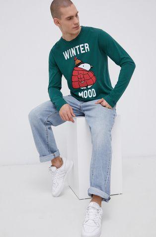 MC2 Saint Barth - Βαμβακερό πουκάμισο με μακριά μανίκια x Peanuts