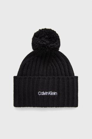 Calvin Klein - Czapka z domieszką wełny