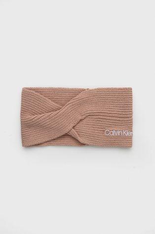 Calvin Klein - Opaska z domieszką wełny
