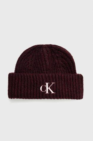 Calvin Klein Jeans - Vlněný klobouk a šála