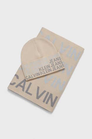 Calvin Klein Jeans - Palarie si esarfa