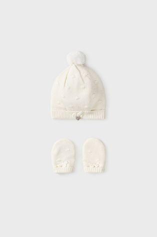 Mayoral Newborn - Детская шапка и перчатки