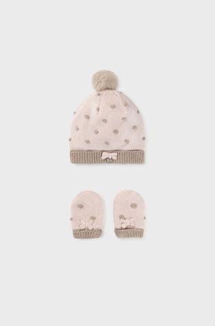 Mayoral Newborn - Czapka i rękawiczki dziecięce