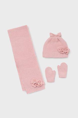 Mayoral - Czapka, szalik i rękawiczki dziecięce