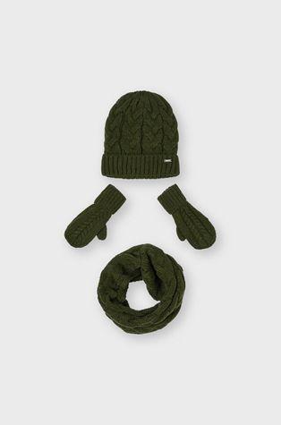 Mayoral - Czapka, szalik i rękawiczki