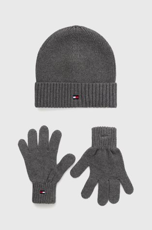 Tommy Hilfiger - Παιδικός σκούφος και γάντια