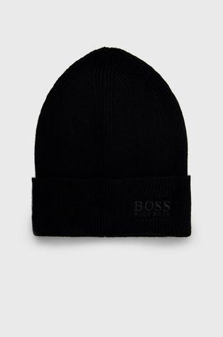 Boss - Czapka z domieszką wełny
