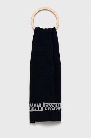 Armani Exchange - Шапка и шал с вълна