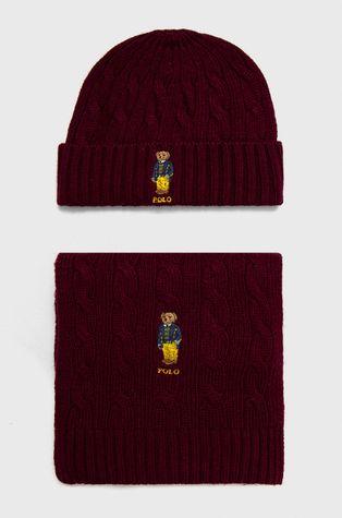 Polo Ralph Lauren - Шапка и шал с вълна