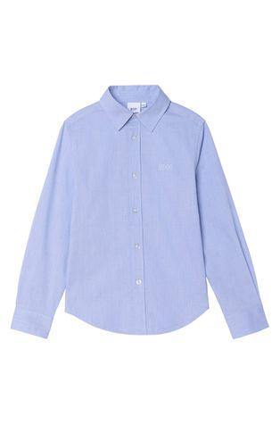 Boss - Детска памучна риза
