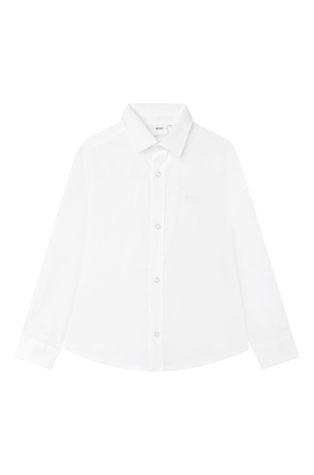 Boss - Παιδικό βαμβακερό πουκάμισο