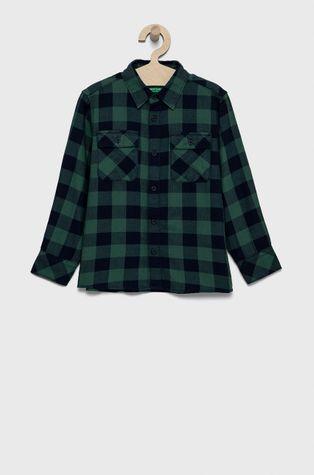 United Colors of Benetton - Детская хлопковая рубашка
