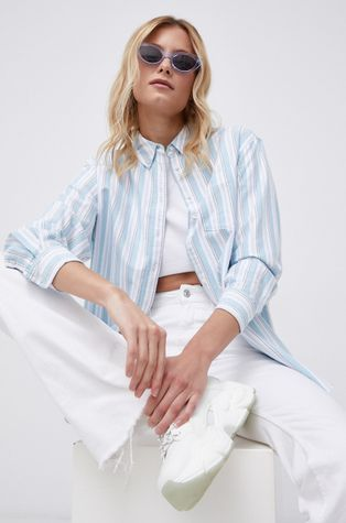 Tommy Jeans - Βαμβακερό πουκάμισο