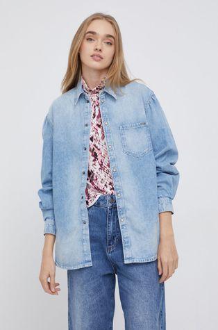 Pepe Jeans - Koszula jeansowa Valerie