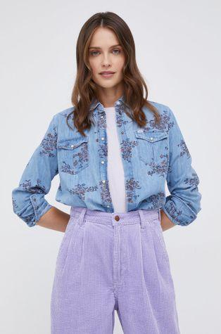 Lee - Koszula bawełniana jeansowa