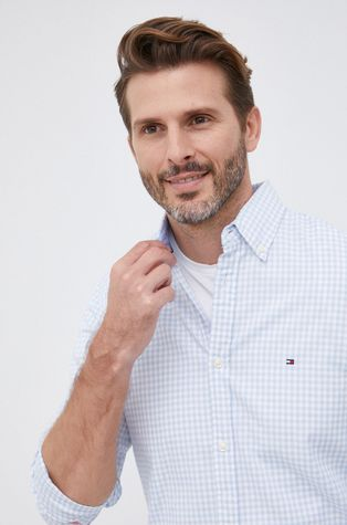 Tommy Hilfiger - Βαμβακερό πουκάμισο