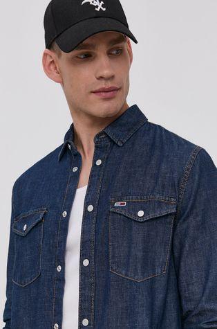 Tommy Jeans - Koszula bawełniana jeansowa