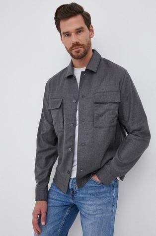 Boss - Μάλλινο πουκάμισο