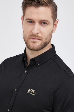 Boss - Βαμβακερό πουκάμισο Boss Athleisure