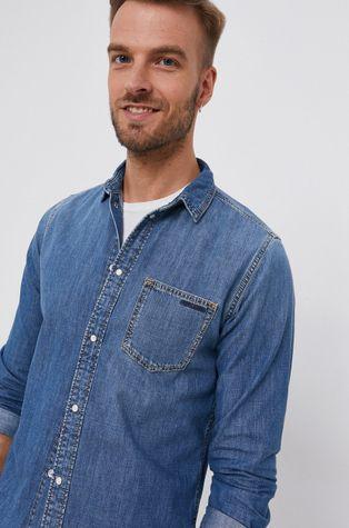 Pepe Jeans - Bavlněná džínová košile Porter