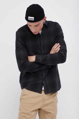 !SOLID - Βαμβακερό πουκάμισο