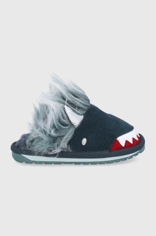 Emu Australia - Дитячі замшеві тапочки Monster