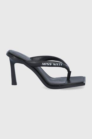 Miss Sixty - Δερμάτινες σαγιονάρες