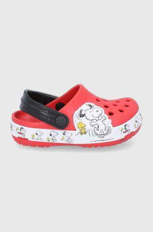 Crocs - Παιδικές παντόφλες x Peanuts