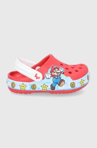 Crocs - Детские шлепанцы x Super Mario