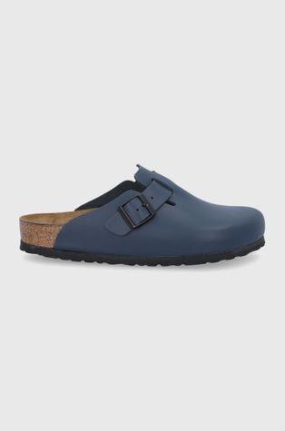 Birkenstock - Kožené pantofle Boston