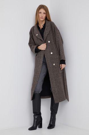 Sisley - Płaszcz wełniany