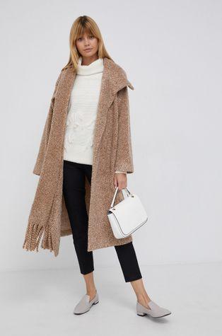 Sisley - Płaszcz z domieszką wełny