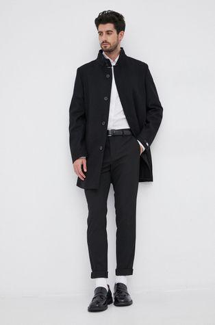 Karl Lagerfeld - Płaszcz wełniany